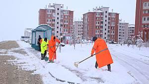Belediyenin Kar Mesaisi Devam Ediyor