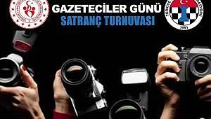 Çalışan Gazeteciler Günü Satranç Turnuvası Düzenlenecek