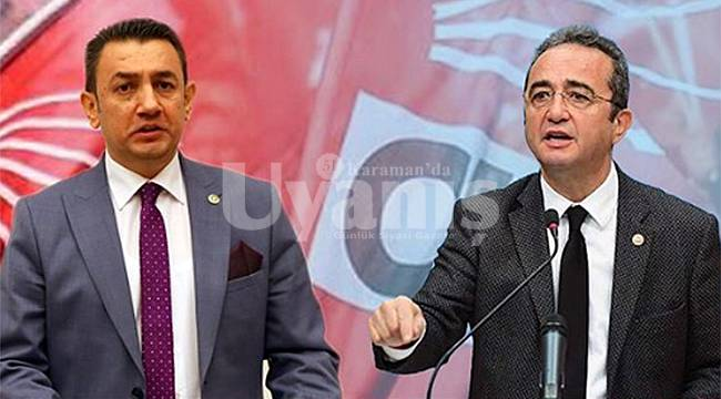 CHP'li Bülent Tezcan Karaman'a geliyor