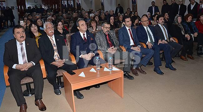 CHP Merkez İlçe Başkanlığı Kongresi Yapıldı
