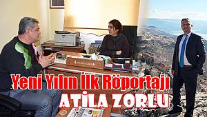 Ermenek Belediye Başkanı Atila Zorlu İle Yeni Yılın İlk Röportajı