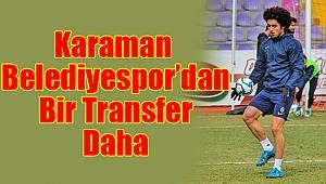 Karaman Belediyespor'dan bir transfer daha