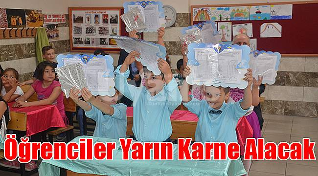 Karaman'da Öğrenciler Yarın Karne Alacak