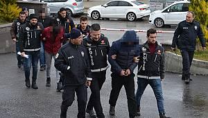 Karaman'da uyuşturucu ticareti zanlısı 3 kişi tutuklandı