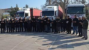 Karaman'dan İdlib'e 3 Tır İnsani Yardım Malzemesi Gönderildi