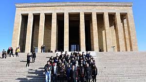 Karaman Lisesi Ata'nın huzurunda