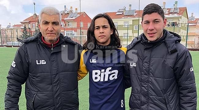 Karamanlı Genç Futbolcuya Milli Davet