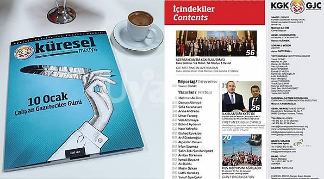 KGK'nın 'Küresel Medya Dergisi' çıktı