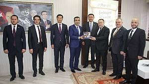 Kırgızistan Heyetinden Karaman Belediyesi'ne Ziyaret