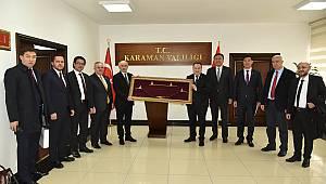 Kırgızistan Heyetinden Ziyaret