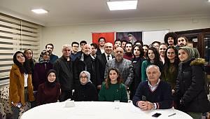 Mahmut Arslan Ankaramander'e konuk oldu
