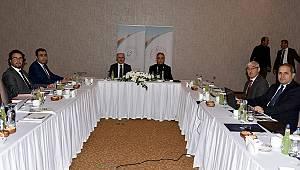 MEVKA Yönetim Kurulu Karaman'da Toplandı