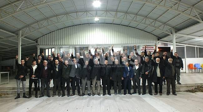 MHP Karaman Teşkilatı İstişare Toplantısını Kazımkarabekir'de Yaptı