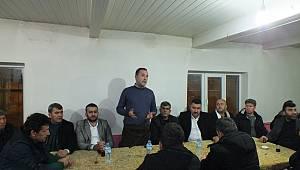 MHP Teşkilatı'nın Mesudiye köy ziyareti