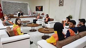 TEMA Vakfı Karaman İl Temsilciliğinden İl Müdürü Mehmet Çalışkan'a Ziyaret