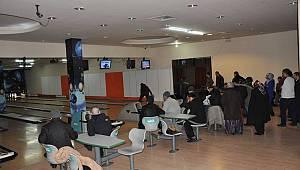 TRSM danışanları bowling oynayarak eğlendi