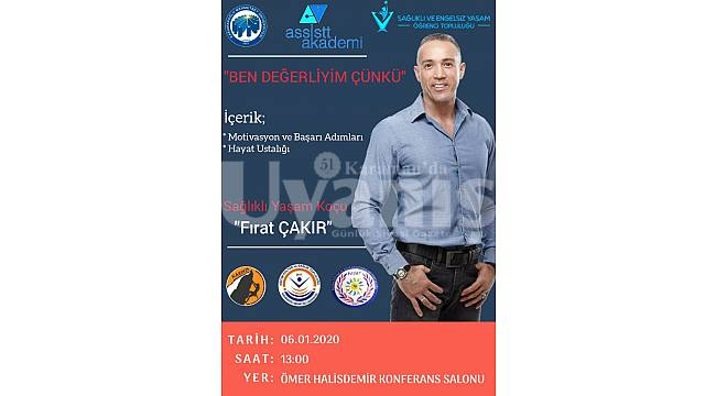 Ünlü yaşam koçu Karaman'da seminer verecek