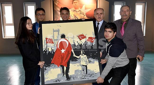 Vali Meral'den TOKİ Anadolu Lisesine Ziyaret