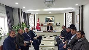 AK Parti Ayrancı'da çalmadık kapı bırakmadı