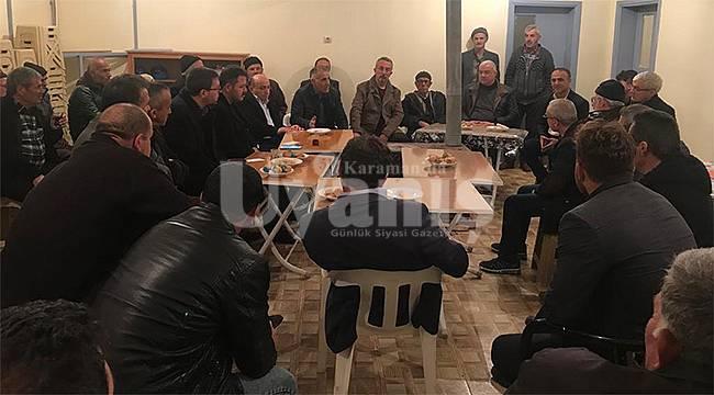 AK Parti'den o bölgede yaşayan köylülere müjde