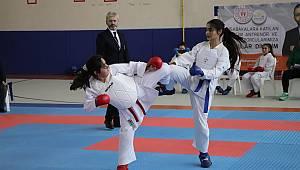 Analig Karate grup müsabakaları Karaman'da yapıldı