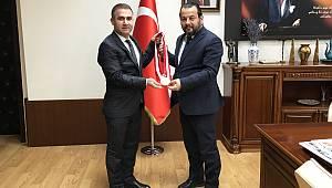 Başkan Özrek'ten Rektör Akgül'e ziyaret
