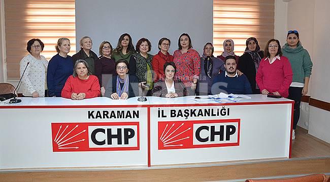 CHP İlçe Kadın Kolları Olağan Kongresi yapıldı