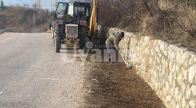 Ermenek Belediyesi çalışmalarını sürdürüyor