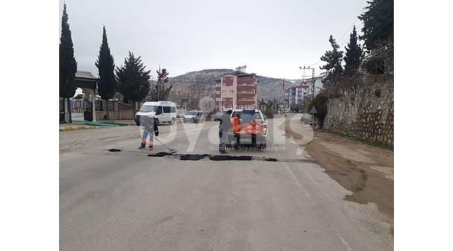 Ermenek'te temizlik ve bakım çalışmaları devam ediyor