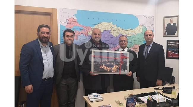 Güler Karaman ASKF Heyetini Kabul Etti