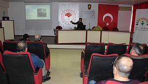Karaman'da Bağımlılıkla Mücadele Eğitimi Yapıldı