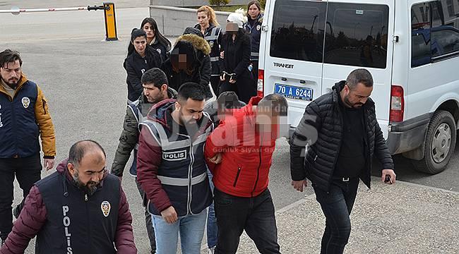 Karaman'da dolandırıcılık çetesi çökertildi