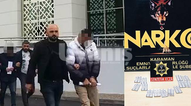 Karaman'da Uyuşturucu Operasyonu 3 Kişi Tutuklandı