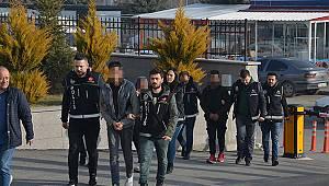 Karaman'da uyuşturucu operasyonunda 3 kişi tutuklandı