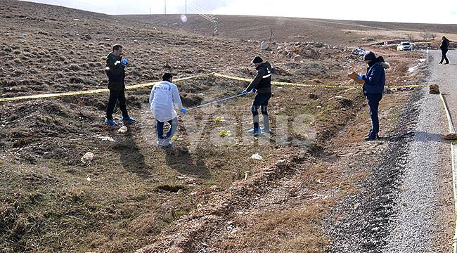 Karaman'da yol kenarında kemik parçaları bulundu