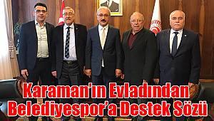 Karaman'ın Evladı Lütfi Elvan'dan Karaman Belediyespor'a Destek Sözü