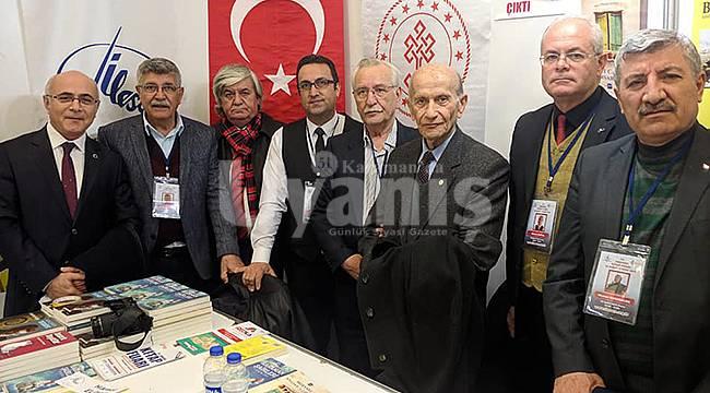Karamanlı Yazarlar Ankara'da Fuara Katıldı