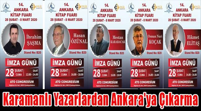 Karamanlı yazarlardan Ankara'ya çıkarma