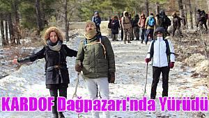 KARDOF Dağpazarı'nda yürüdü