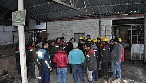Maden ocağında yapılan grev sona erdi