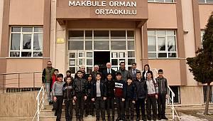 Makbule Orman Ortaokuluna ziyaret