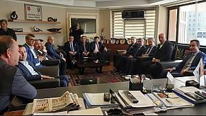 MHP'den Oprukçu'ya Ziyaret