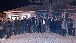 MHP Karaman Teşkilatı'nın Boyalı köy ziyareti