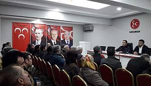 MHP yenilenen binasında ilk toplantısını yaptı