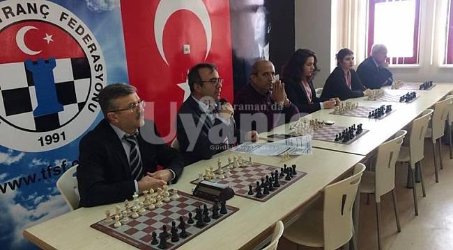 Okullar Arası Gençler Satranç Şampiyonası Yapıldı