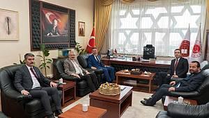 Rektör Akgül ve Başsavcı İşlek'ten Adalet Teşkilatına Ziyaret