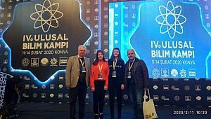 TOBB Fen Lisesi 4. Ulusal Bilim Kampi'nda Karaman'ı temsil edecek