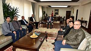 Türk Ocakları Karaman Şubesinden Nezaket Ziyareti
