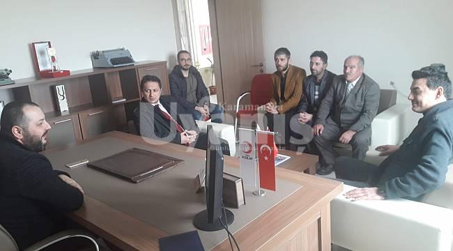 Yeniden Refah Partisi Karaman Teşkilatından nezaket ziyareti