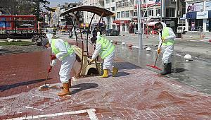 Belediye Ekiplerinden Çok Kapsamlı Temizlik Çalışması